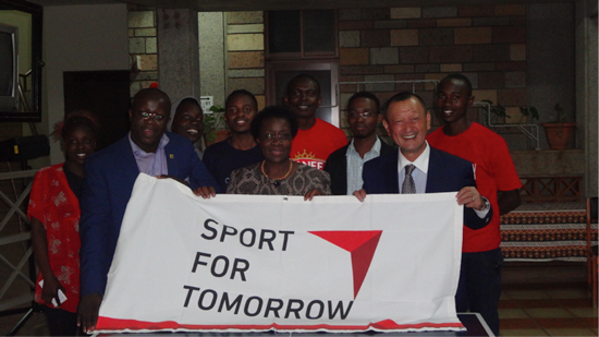 Sports Exchange Programs put on to mark the occasion of organising the 'Japan/Africa Student Innovator Expo', an official TICAD VI side event1