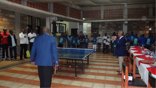 Sports Exchange Programs put on to mark the occasion of organising the 'Japan/Africa Student Innovator Expo', an official TICAD VI side event2