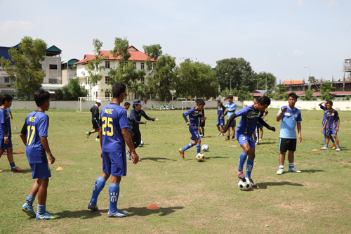 Junior Youth Soccer Festa 2016 In Cambodia3