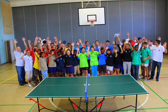 Dissemination of Table Tennis in Namibia1