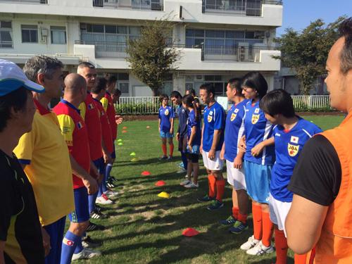 ルーマニアの伝統スポーツ「オイナ」と日本の伝統文化に基づいた新スポーツ「スポーツ鬼ごっこ」の国際交流試合4