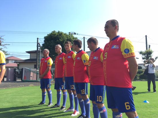 ルーマニアの伝統スポーツ「オイナ」と日本の伝統文化に基づいた新スポーツ「スポーツ鬼ごっこ」の国際交流試合3