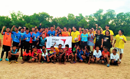「僕らで世界を動かそう」スポーツが繋ぐ日本とタイ200人の子ども達とその未来3