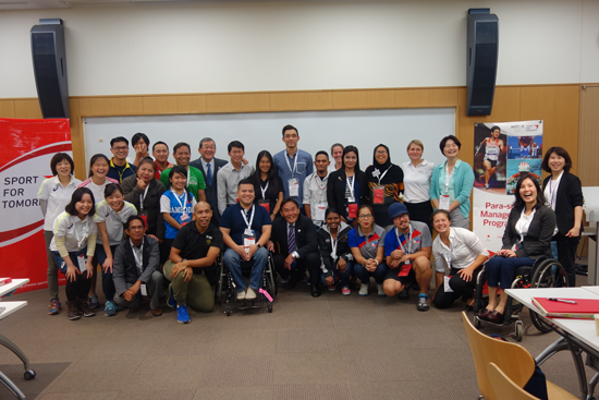 """Para Sport Management Training Workshop"" for the Southeast Asian National Paralympic Committee4"