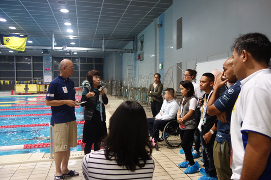 """Para Sport Management Training Workshop"" for the Southeast Asian National Paralympic Committee2"