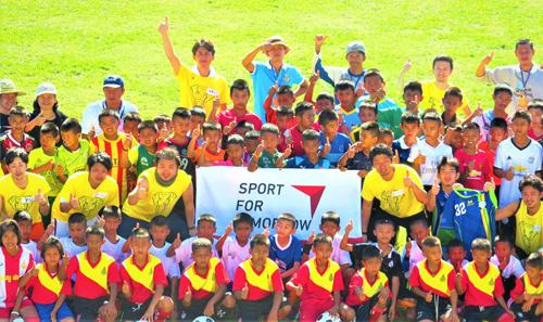 「僕らで世界を動かそう」スポーツが繋ぐ日本とタイ200人の子ども達とその未来1
