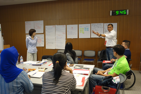 """Para Sport Management Training Workshop"" for the Southeast Asian National Paralympic Committee1"