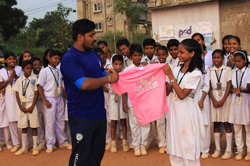 """Support for Sporting Goods for the Indian NGO """"PRO SPORT DEVELOPMENT""""1"""
