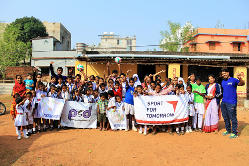 """Support for Sporting Goods for the Indian NGO """"PRO SPORT DEVELOPMENT""""3"""