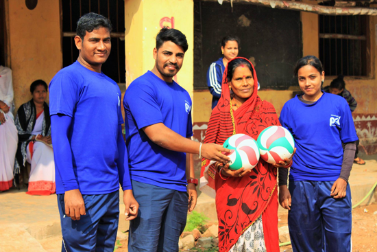"""Support for Sporting Goods for the Indian NGO """"PRO SPORT DEVELOPMENT""""4"""