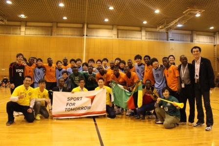 Japan-Zambia Handball Exchange Project1