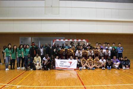 Japan-Zambia Handball Exchange Project5