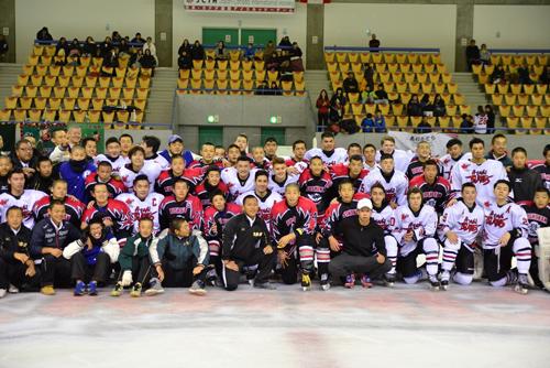 Japan-Canada Ice Hockey International Exchange2