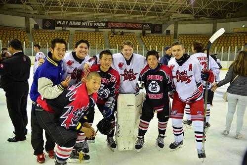 Japan-Canada Ice Hockey International Exchange1
