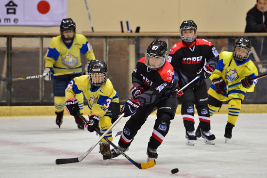 Japan-Korea Ice Hockey International Exchange Friendly Game1