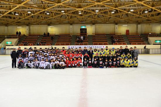 Japan-Korea Ice Hockey International Exchange Friendly Game3