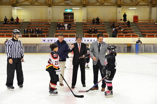 Japan-Korea Ice Hockey International Exchange Friendly Game4