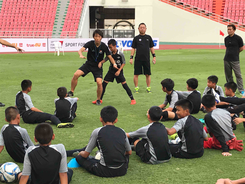 SFT program utilising J.League Asia Challenge1