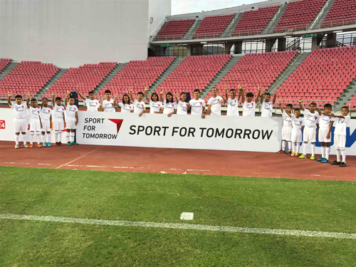 SFT program utilising J.League Asia Challenge4