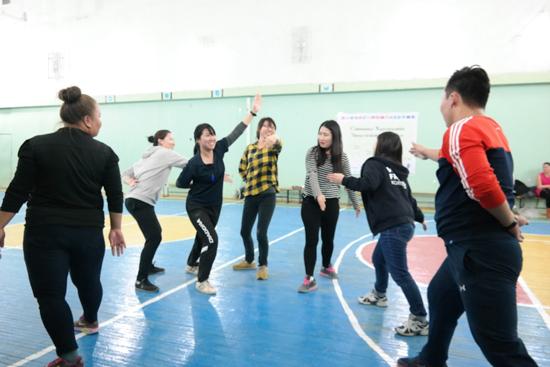 【青年海外協力隊活動レポート】極寒の冬モンゴルでもできる運動を紹介1