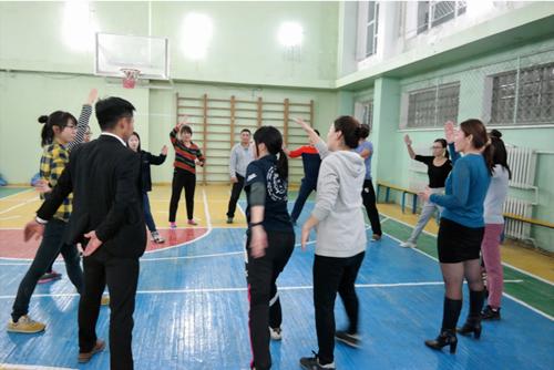 【青年海外協力隊活動レポート】極寒の冬モンゴルでもできる運動を紹介2