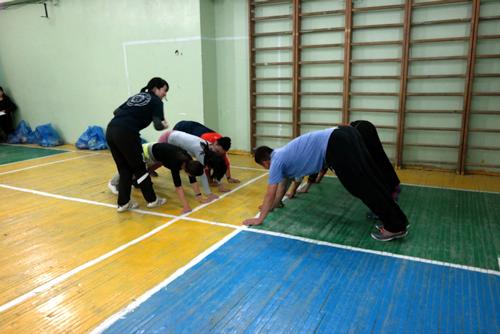 【青年海外協力隊活動レポート】極寒の冬モンゴルでもできる運動を紹介3