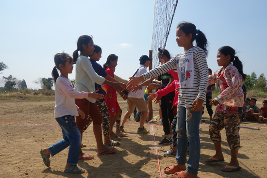 """""""Cambodia Project: Ball Games on Land Without Landmines""""2"""