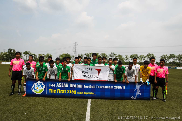 U-14 ASEAN DREAM FOOTBALL TOURNAMENT 2016/174