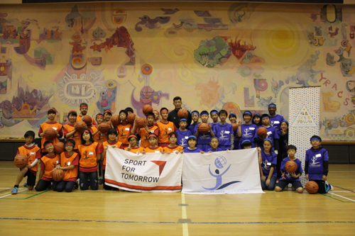 USF Sports Camp in 福島(子ども未来塾)4