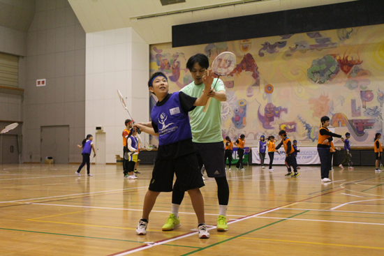 USF Sports Camp in 福島(子ども未来塾)2