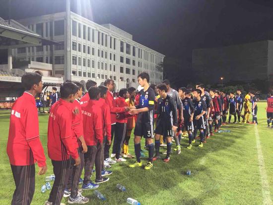 南アジア・日本U-16サッカー交流3