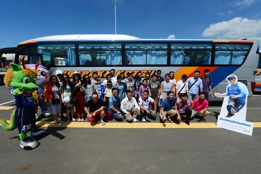 【スポーツ文化ツーリズムアワード入選事業】</br>ベトナムからのJ2水戸ホーリーホック観戦・応援ツアーと</br>ベトナムメディアによる日本の観光地・文化の発信1