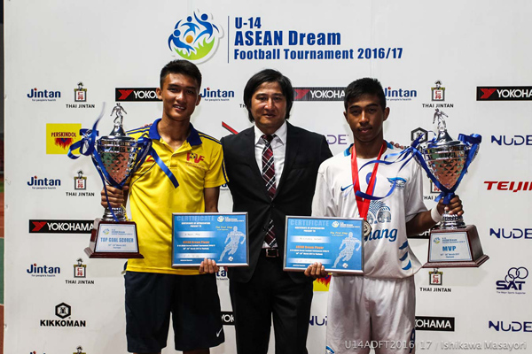 U-14 ASEAN DREAM FOOTBALL TOURNAMENT 2016/172