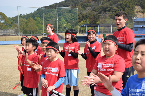 USF Sports Camp in 徳島 Spring 20171