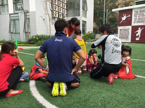 ベトナム・ハノイにおけるサッカー教室5