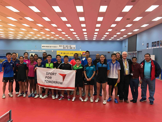 Project to Hold a Four-Country Joint Table Tennis Training Camp1