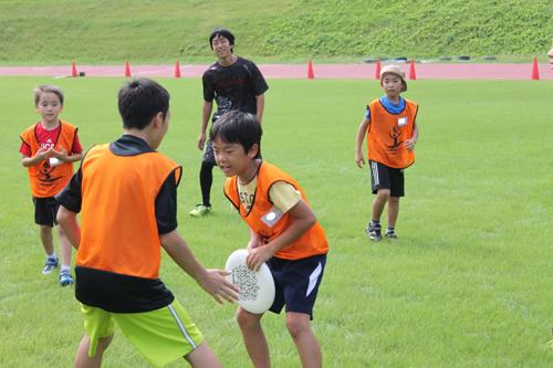 USF Sports Camp in 滋賀 Autumn 20162