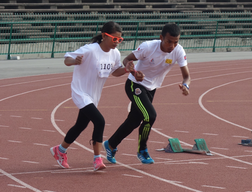 Athletic Training Courses and Competitions for Promoting Social Participation of People with impairment in Cambodia1