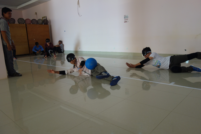 Cambodia's First GoalBall Workshop4