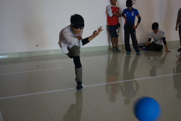 Cambodia's First GoalBall Workshop3