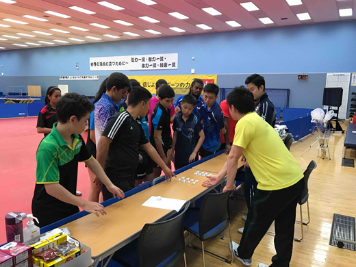 Project to Hold a Four-Country Joint Table Tennis Training Camp2