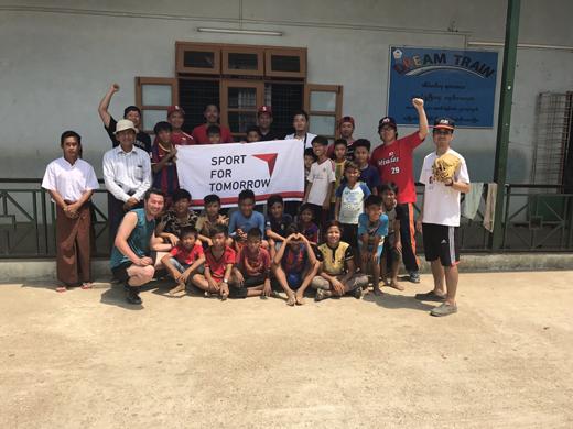 ミャンマー野球普及活動2