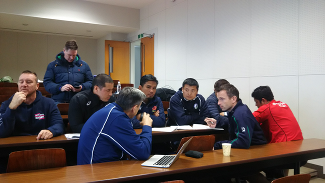 World Rugby & Asia Rugby Performance Development Workshop2