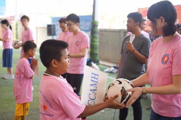 公認サークル:ピースボールアクション関西による中古ボールの開発途上国への提供事業1