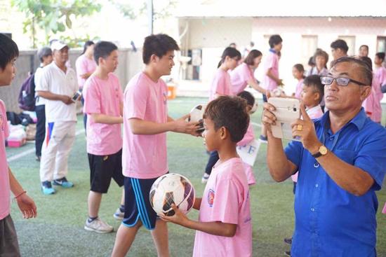 公認サークル:ピースボールアクション関西による中古ボールの開発途上国への提供事業2