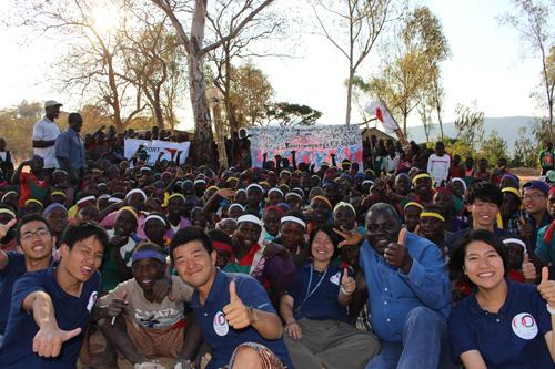 マラウイでのUNDOKAIの開催2
