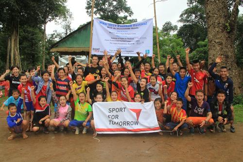 2017年ヌポ難民キャンプサッカーフェスティバル1