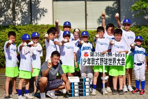 世界の野球少年に野球ボールのプレゼント3
