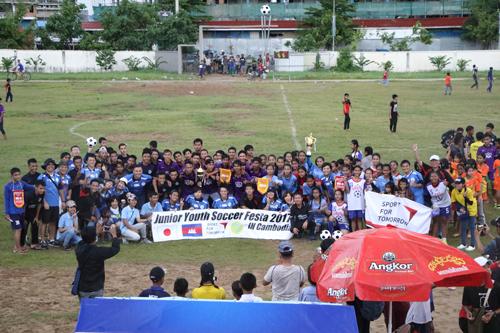 ジュニアユースサッカーフェスタ2017 イン カンボジア3