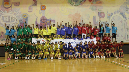 USF Sports Camp in 福島 Summer 20174